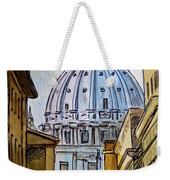 Vatican City Weekender Tote Bag