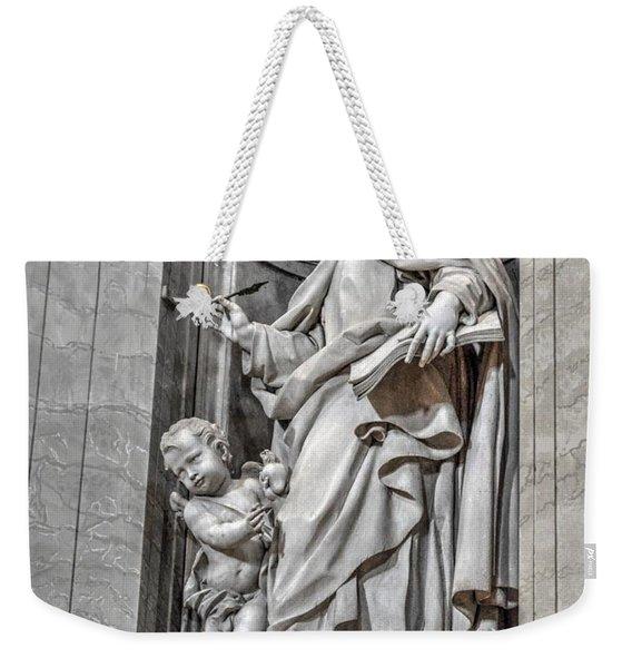 Vatican Statue Weekender Tote Bag