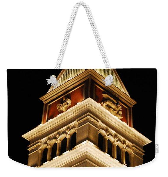 Vegas At Nite Weekender Tote Bag