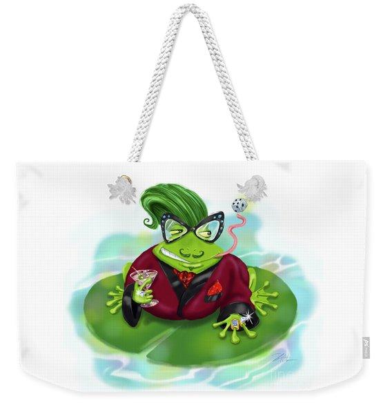 Vegas Frog Bachelor Pad Weekender Tote Bag