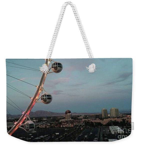 Vegas Strip Weekender Tote Bag