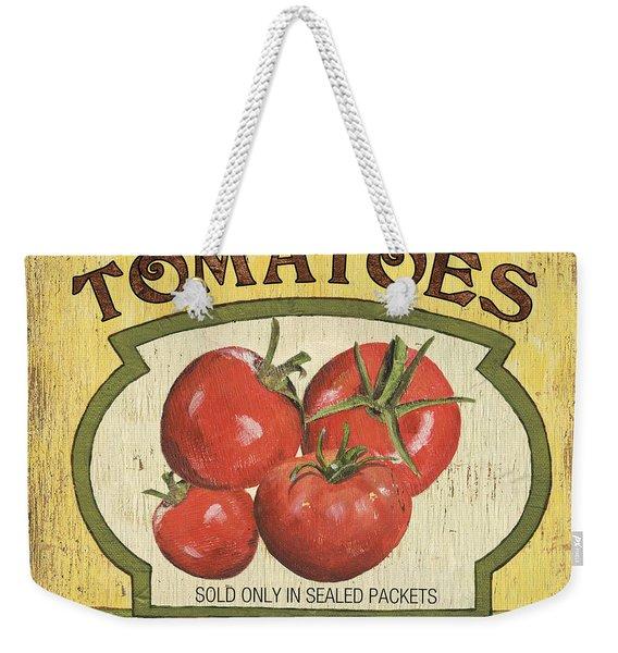 Veggie Seed Pack 3 Weekender Tote Bag
