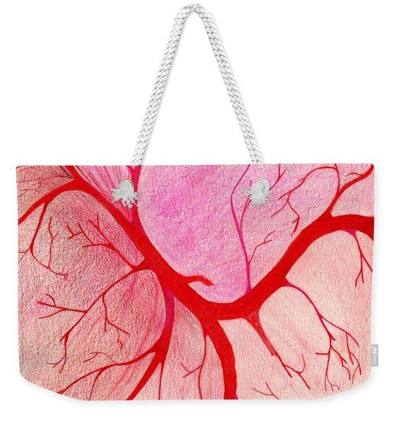 Veins Within Weekender Tote Bag