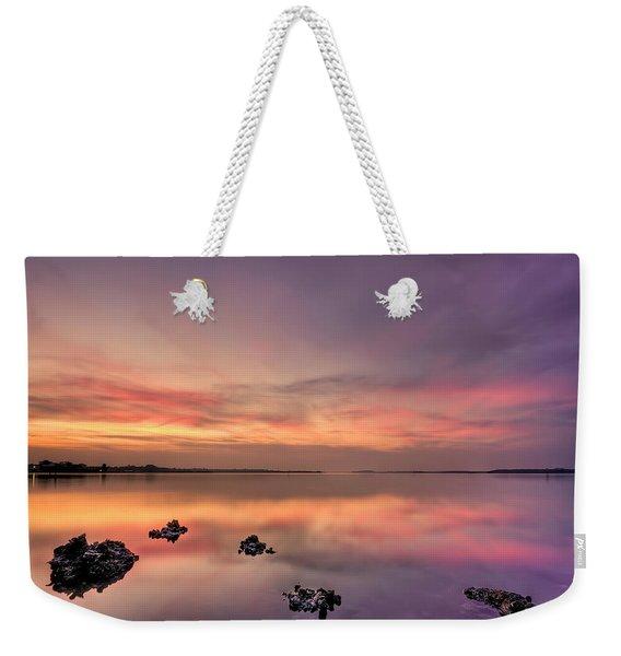 Velvet Morning Weekender Tote Bag