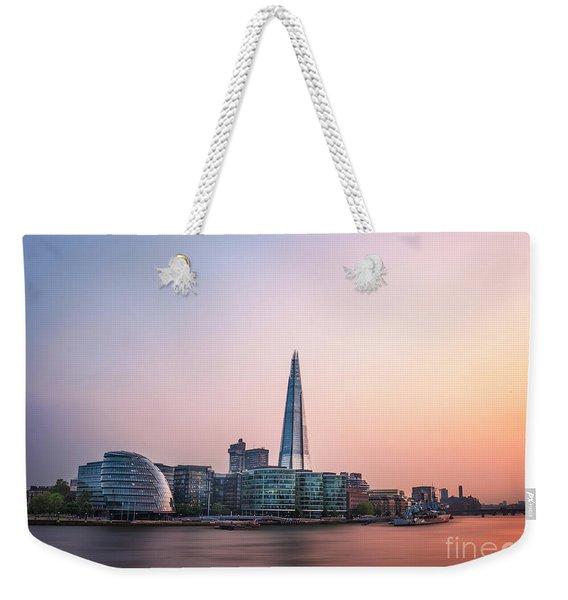 Velvet Silence Weekender Tote Bag