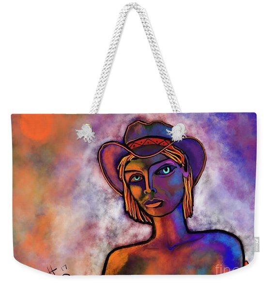 Velvet Squeeze Weekender Tote Bag