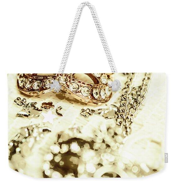Venetian Crystal Style Weekender Tote Bag