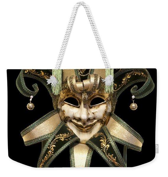 Venetian Mask Weekender Tote Bag