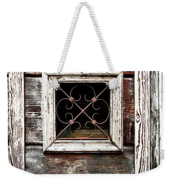 Venetian Window Weekender Tote Bag