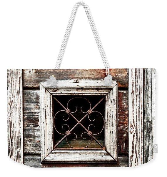 Venetian Window Weekender Tote Bag