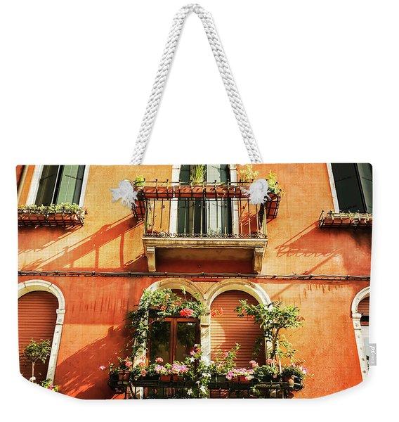 Venetian Windows Weekender Tote Bag