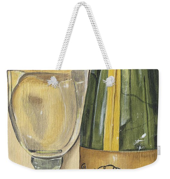 Veneto Pinot Grigio Panel Weekender Tote Bag