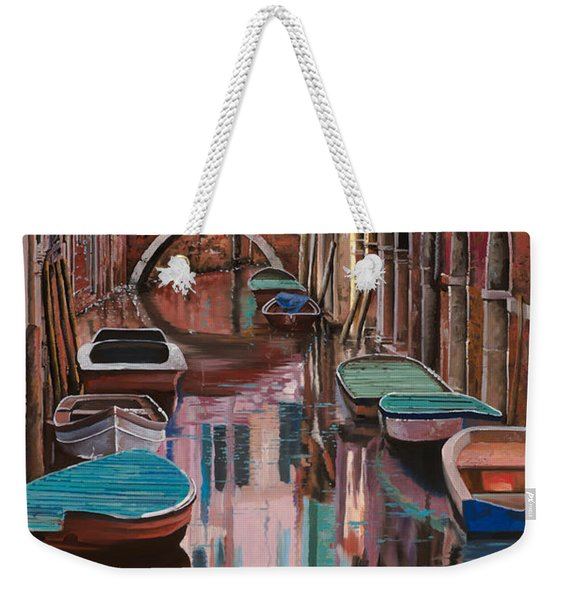 Venezia A Colori Weekender Tote Bag