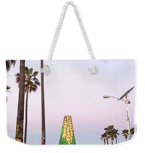 Venice Beach Corn Cob Art Weekender Tote Bag