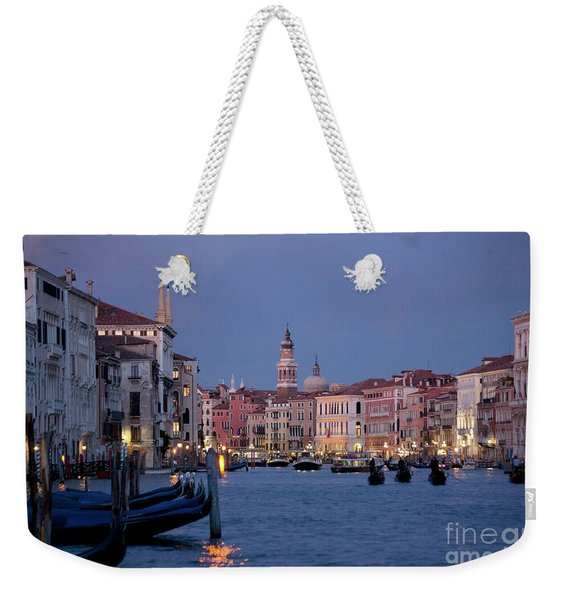 Venice Blue Hour 2 Weekender Tote Bag