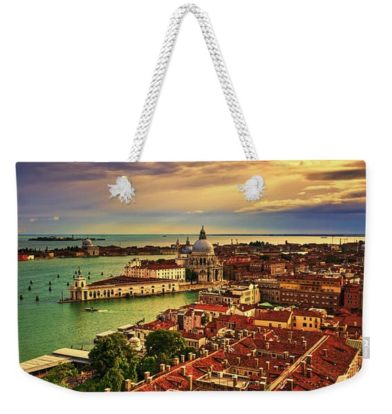From The Bell Tower In Venice, Italy Weekender Tote Bag
