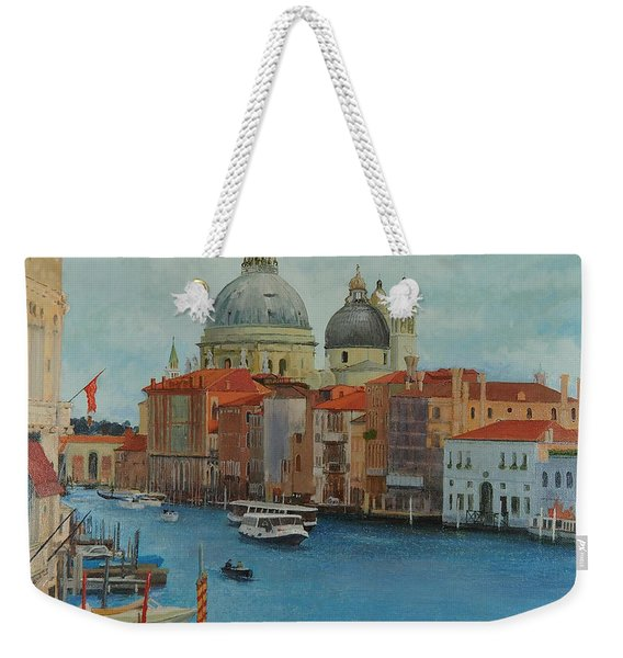 Venice Grand Canal I Weekender Tote Bag
