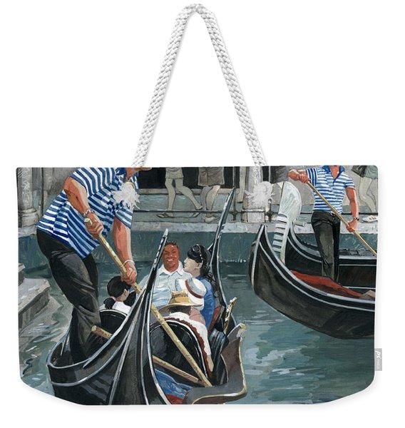 Venice. Il Bacino Orseolo Weekender Tote Bag