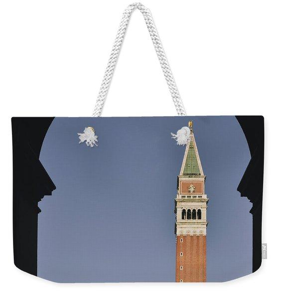 Venice In A Frame Weekender Tote Bag