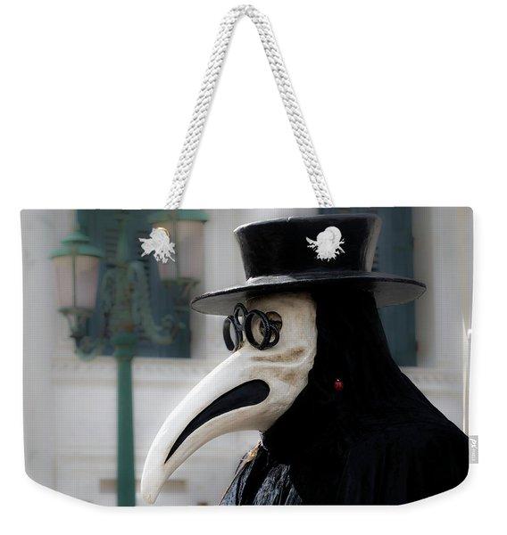 Venice Mask 23 2017 Weekender Tote Bag