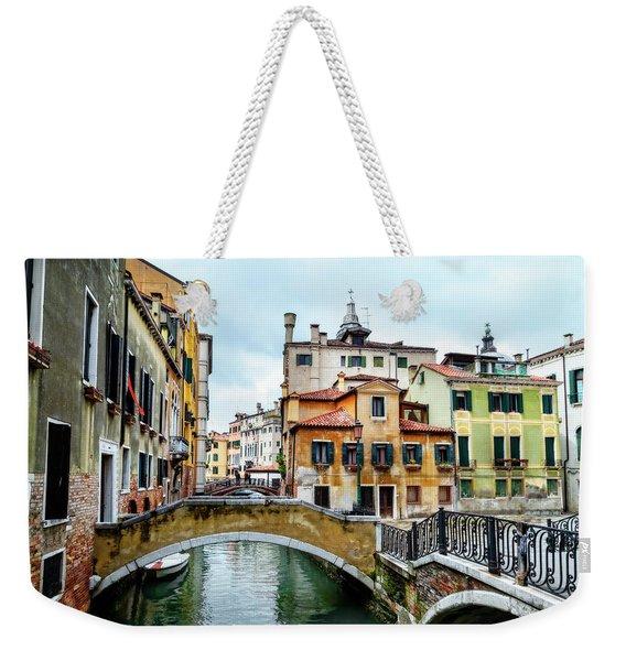 Venice Neighborhood Weekender Tote Bag