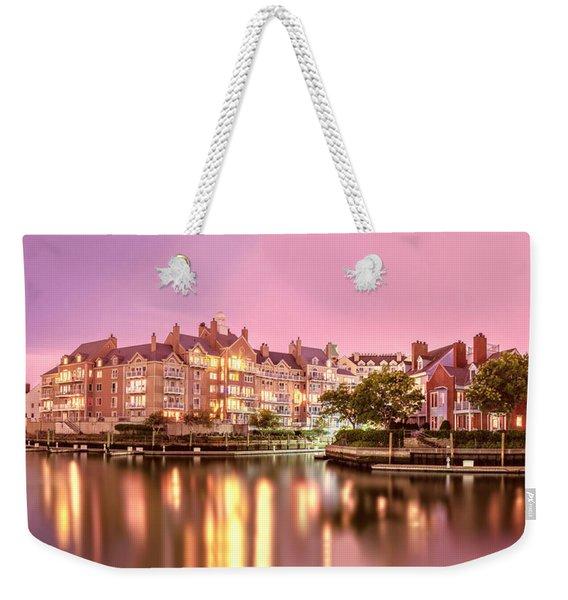 Venice Of Jersey City Weekender Tote Bag
