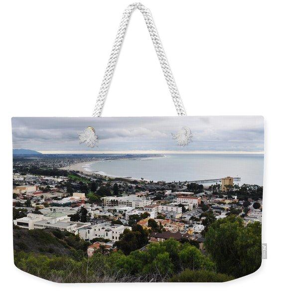 Ventura Coast Skyline Weekender Tote Bag