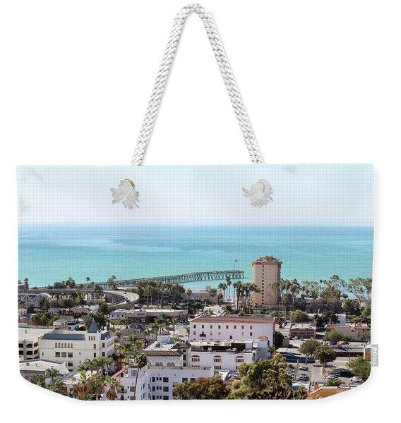 Ventura Coastal View Weekender Tote Bag