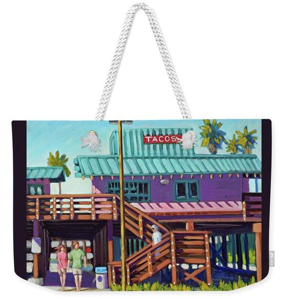 Ventura Pier - Tacos Weekender Tote Bag