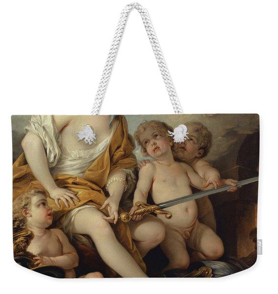 Venus And Cupids With The Arms Of Mars Weekender Tote Bag
