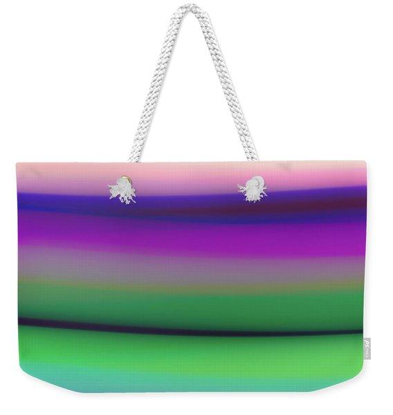 Verbena Stripe Weekender Tote Bag