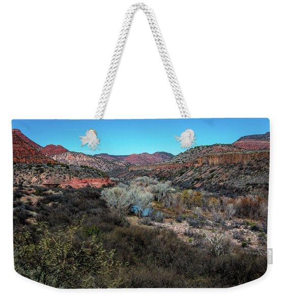 Verde Canyon Oasis Weekender Tote Bag