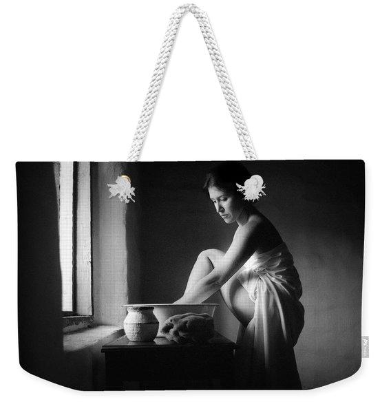 Vermeer Footwasher Weekender Tote Bag