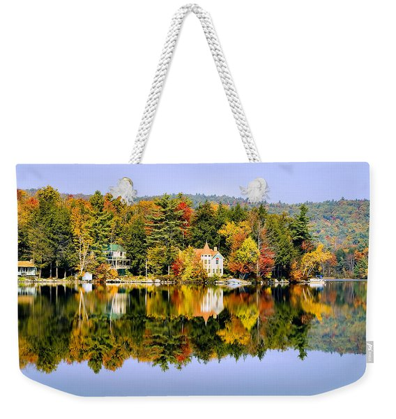 Vermont Reflections Weekender Tote Bag