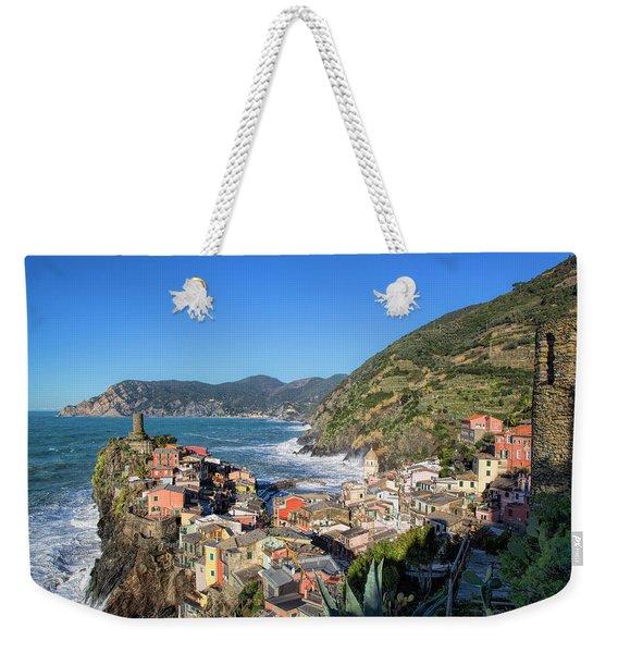Vernazza In Cinque Terre Weekender Tote Bag