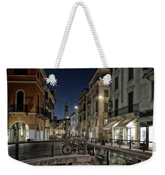 Verona After Midnight Weekender Tote Bag