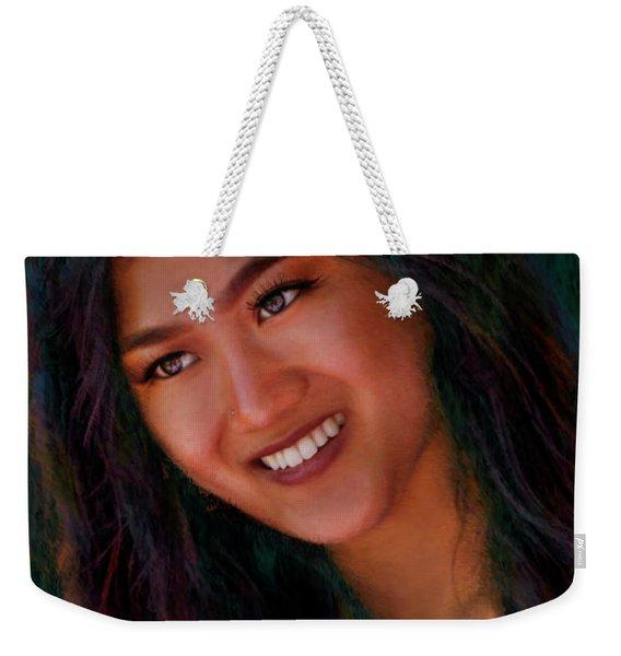 Veronica Chin Weekender Tote Bag