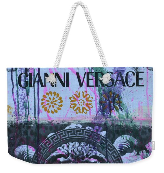 Versace Logo 2 Weekender Tote Bag