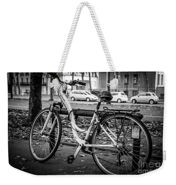 Versailles Bicycle Weekender Tote Bag