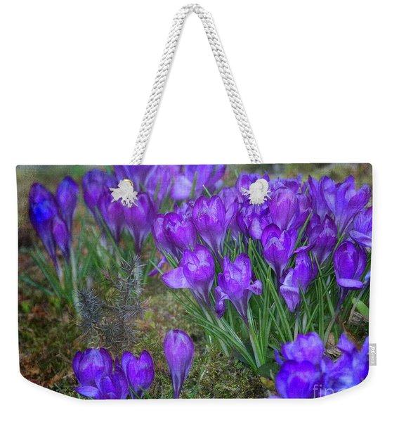 Very Blue Weekender Tote Bag