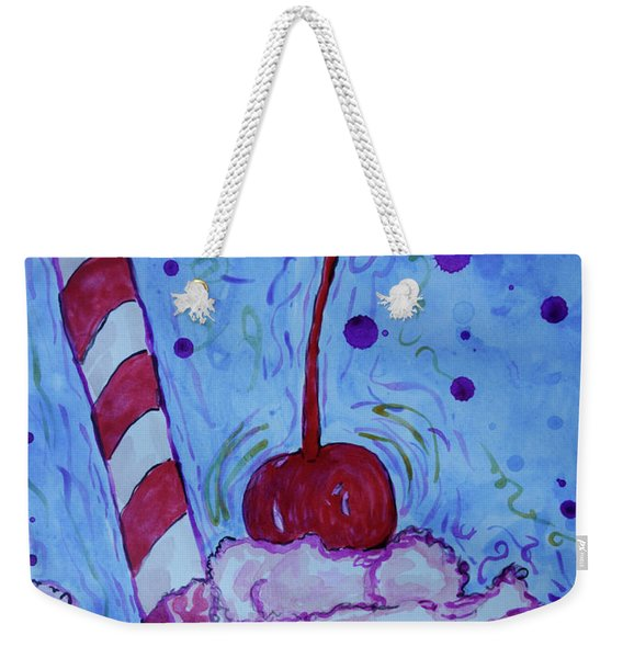 Very Cherry Soda Weekender Tote Bag