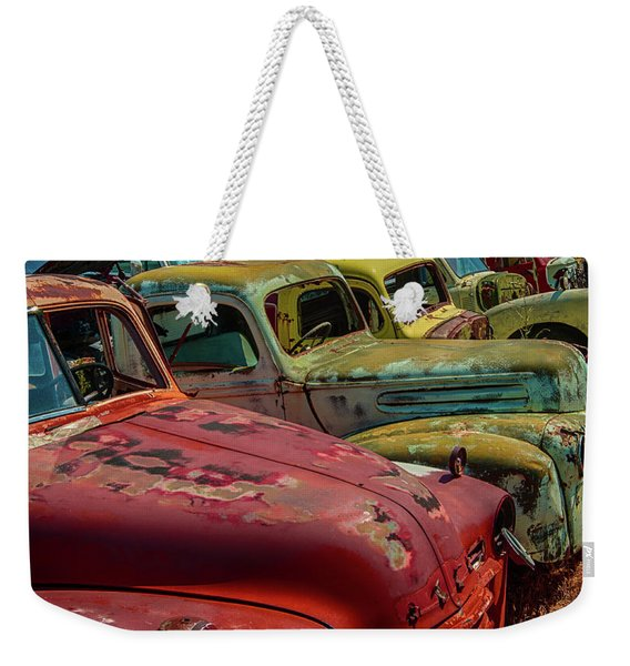 Very Late Models Weekender Tote Bag