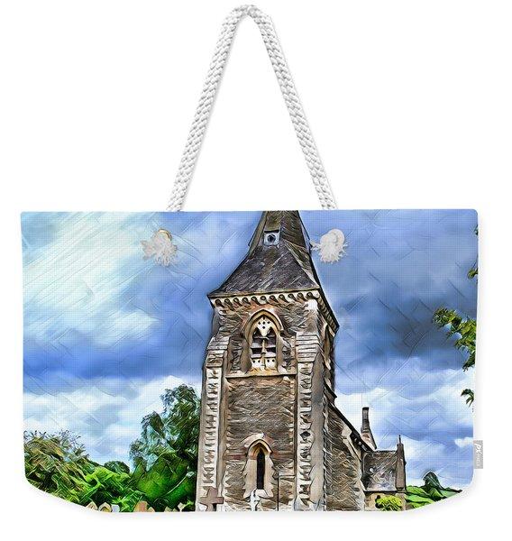 Very Old Church Weekender Tote Bag