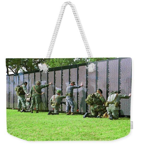 Veterans Memorial Weekender Tote Bag