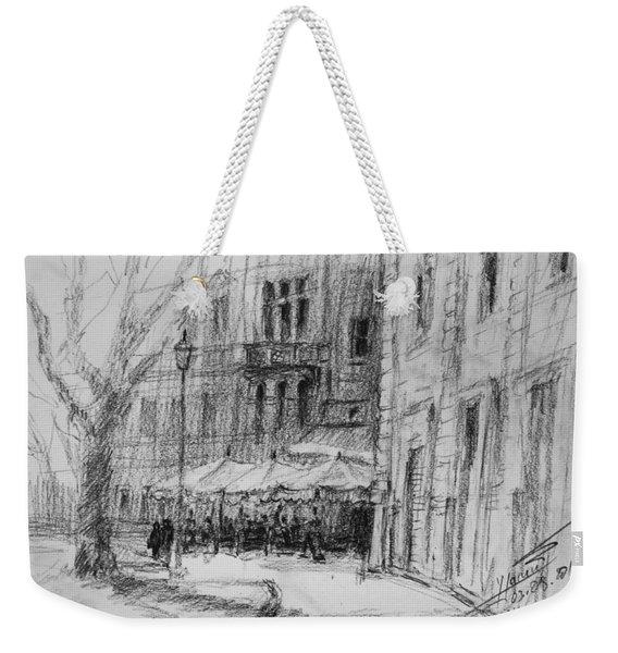 Via Veneto, Rome Weekender Tote Bag