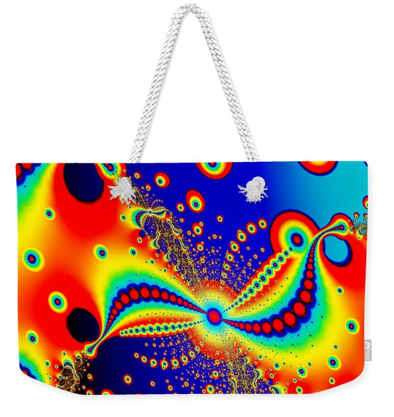 Vibrant Abstract Weekender Tote Bag