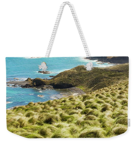 Vibrant Cape Seascape Weekender Tote Bag