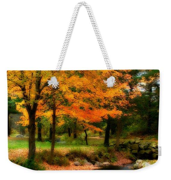 Vibrant October Weekender Tote Bag
