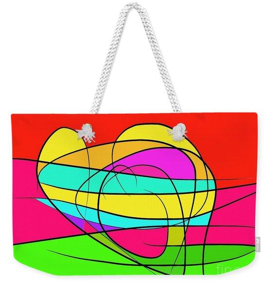 Vibrant Souls Weekender Tote Bag