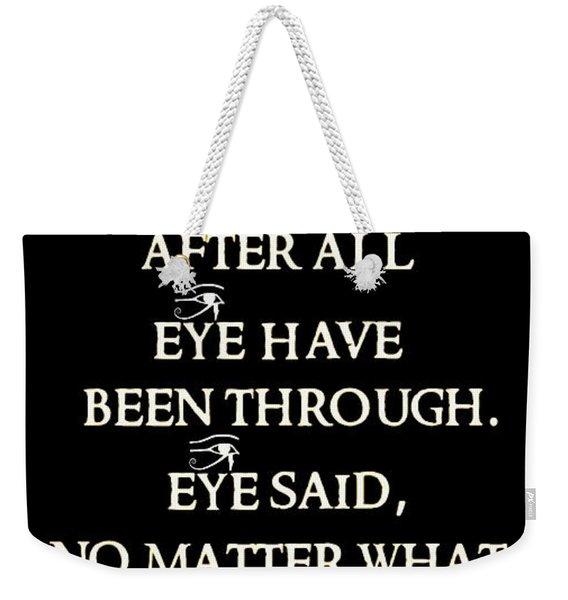 Victor Weekender Tote Bag